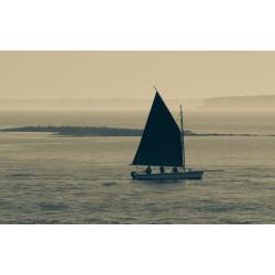 Coucher en bord de mer